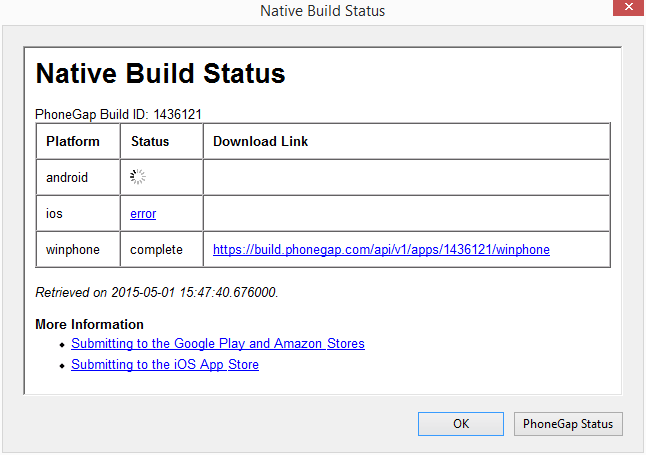 nativebuildstatus